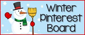 Winter Theme Pinterest Board