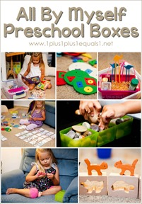 All By Myself Preschool Boxes Sept 2013
