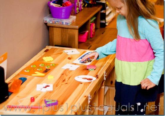 Home Preschool Letter V -4571