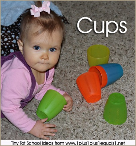 Tony Tot School Cups 9-12 months