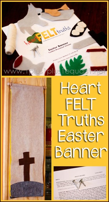 Heart FELT Truths Easter Banner