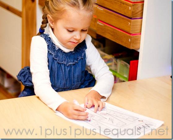 Home Preschool Letter W -5356