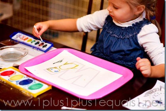 Home Preschool Letter W -5393