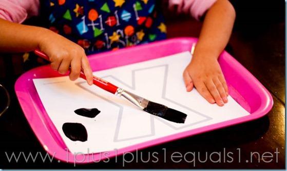 Home Preschool Letter X -5738