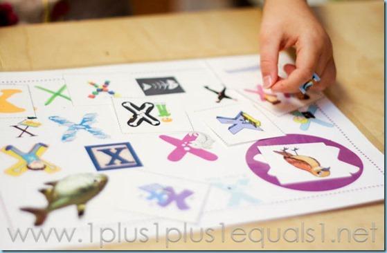 Home Preschool Letter X -5825