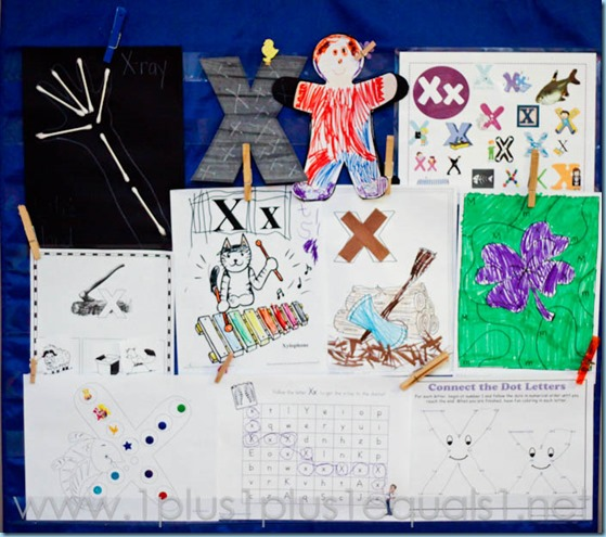 Home Preschool Letter X -5859-2