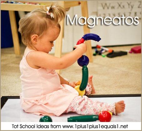 Tot School Magneatos 12-18 Months