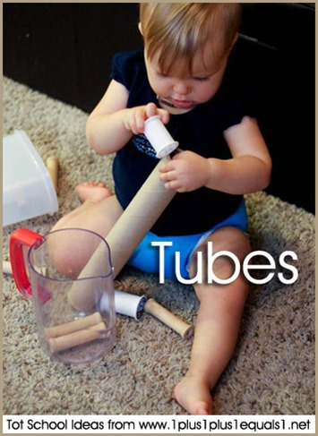 Tot School Tubes 12-18 Months