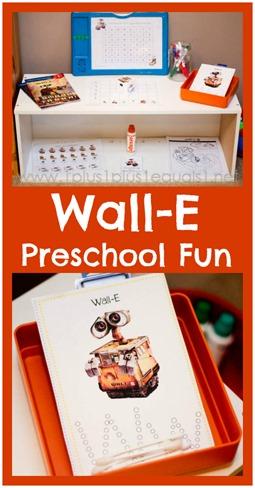 Wall-E Preschool Fun