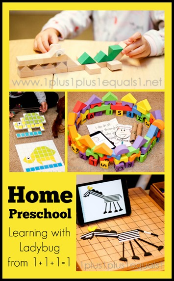 Home Preschool April 2014