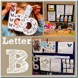 Home Preschool Letter B