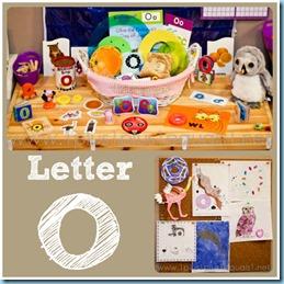 Home Preschool Letter O