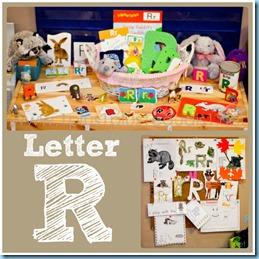 Home Preschool Letter R
