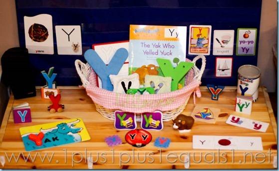 Home Preschool Letter Y -6182