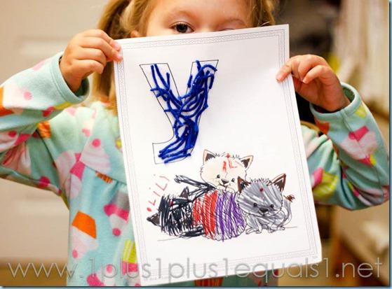 Home Preschool Letter Y -6204
