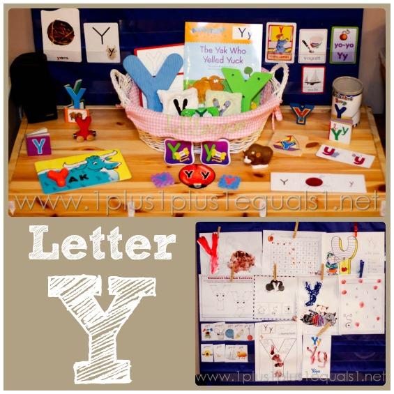 Home Preschool Letter Y 1 1 1 1