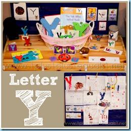 Home Preschool Letter Y