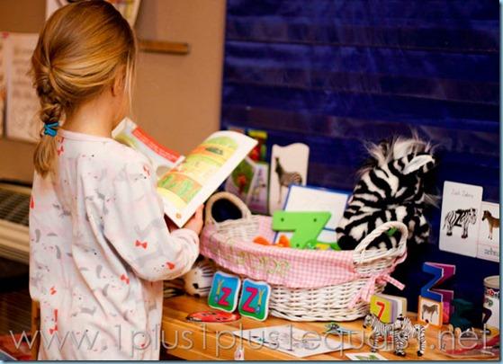 Home Preschool Letter Z -6390