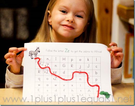 Home Preschool Letter Z -6546