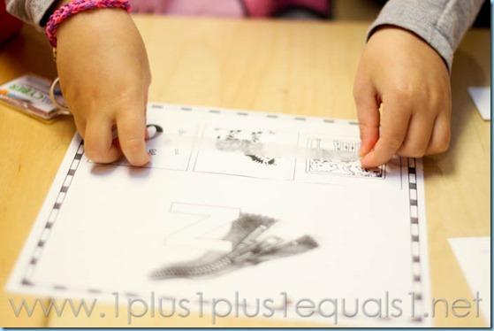 Home Preschool Letter Z -6711