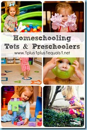Homeschooling Tots and Preschoolers