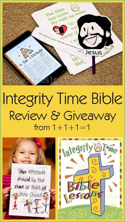 Integrity Time Bible Review and Giveaway