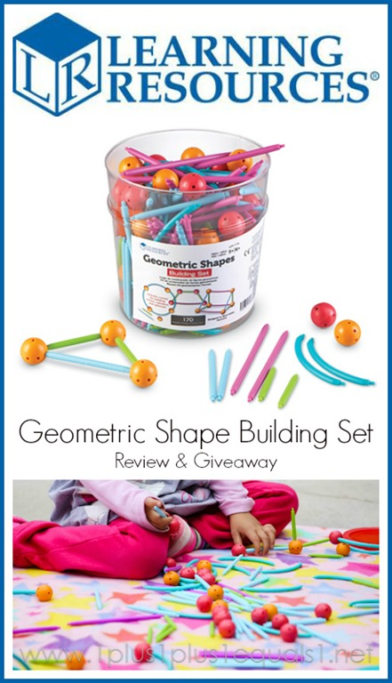 Learning Resources Geometric Shapes Building Set Review