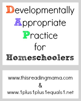 Developmentally Appropriate Practice and Homeschoolers