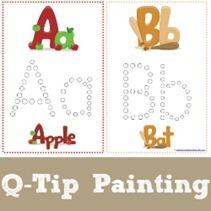 Q-Tip-Alphabet-Painting