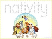 Nativity Q-tip Printables
