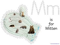 The Mitten Q-tip Printables