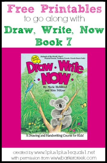 Draw, Write, Now Book 7 Printables