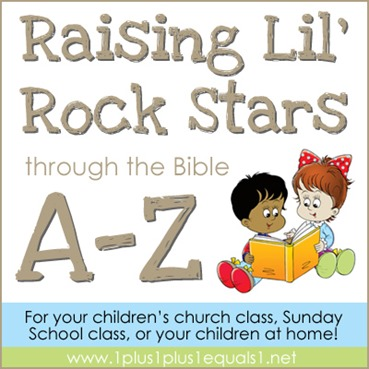 Raising Lil' Rock Stars Through the Bible A to Z
