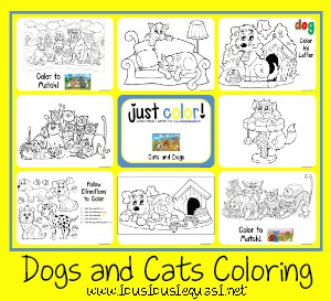 Just Color Cats and Dogs