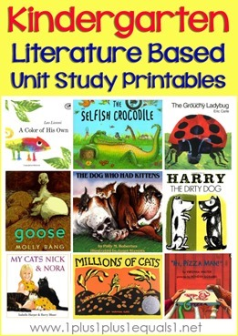 Kindergarten-Literature-Unit-Printab