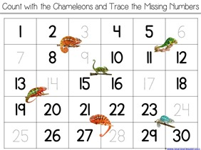 Chameleon Counting