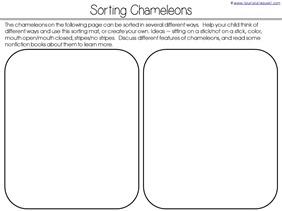 Sorting Chameleons
