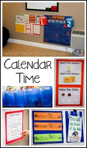 Calendar Time Ideas and Printables