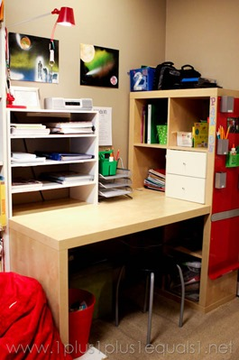 Homeschool Room Desk