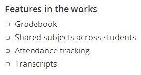 Lessontrek Future Features