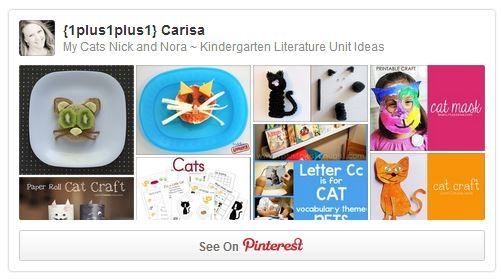 My Catsa Nick and Nora Pinterest Board