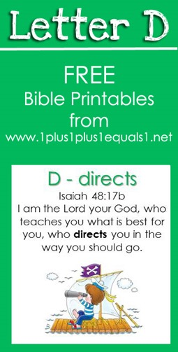 RLRS Letter D Isaiah 48 17  Bible Verse Printables