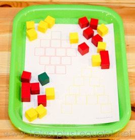 Apple Activity Using Cubes