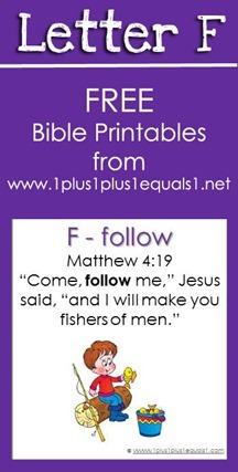 RLRS Letter F Matthew 4 Bible Verse Printables