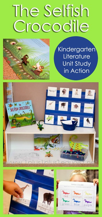 The Selfish Crocodile Kindergarten Literature Unit in Action