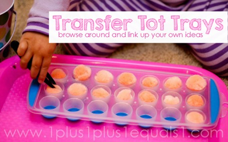 Transfer Tot Trays Idea Collection