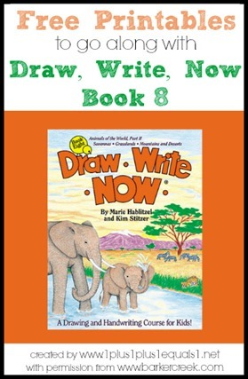 Draw, Write, Now Book 8 Printables