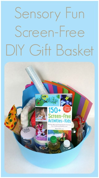 150  Screen-Free Activities for Kids DIY Gift Basket