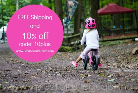 Balance Bike Discount