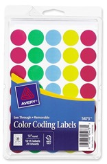 Color Dot Stickers